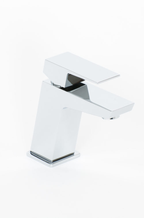 AROS MONO BASIN MIXER & PUSH WASTE