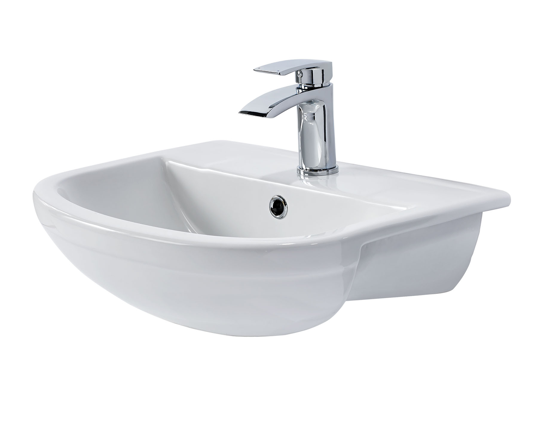 Elgin Semi Recessed Basin Bath Giant