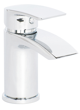 COLL CLOAKROOM BASIN MIXER AND PUSH WASTE