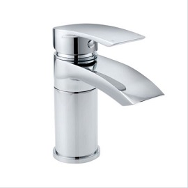 COLL SWIVEL MONO BASIN MIXER & PUSH WASTE