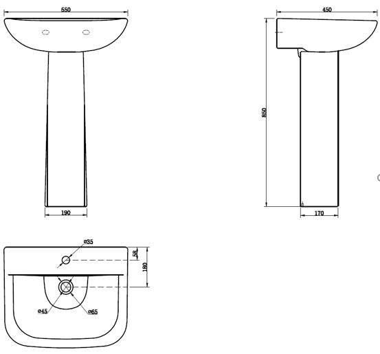 kitchen cabinets freestanding leven basin and pedestal bath 20421