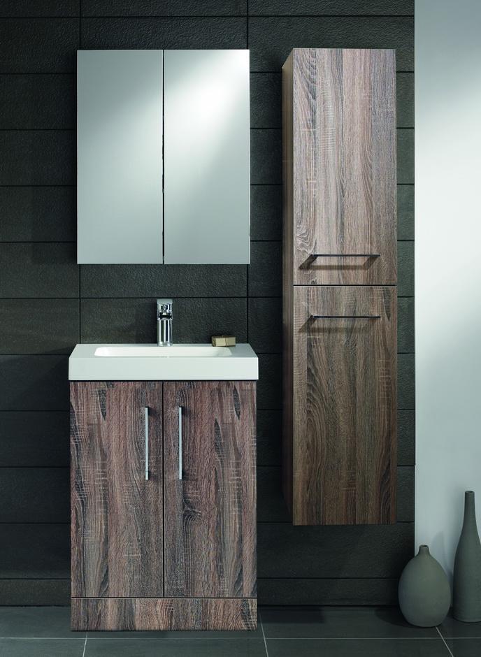 Lomond 500 Floor Standing Vanity Unit And Basin In 4 Color