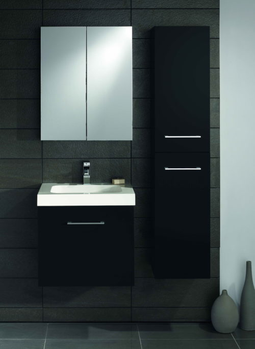 LOMOND 600 WALL HUNG VANITY UNIT, BASIN & 1600 TALLBOY UNIT