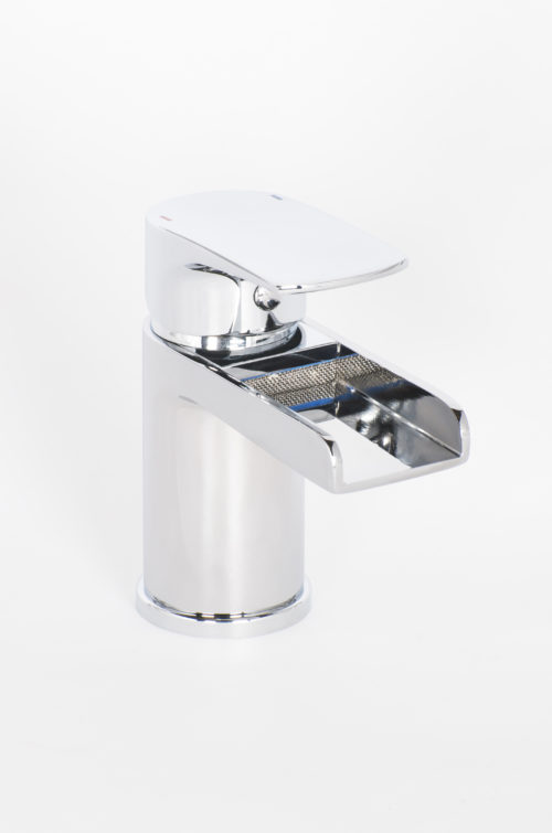 ALFORD CLOCKROOM MONO BASIN MIXER & PUSH WASTE