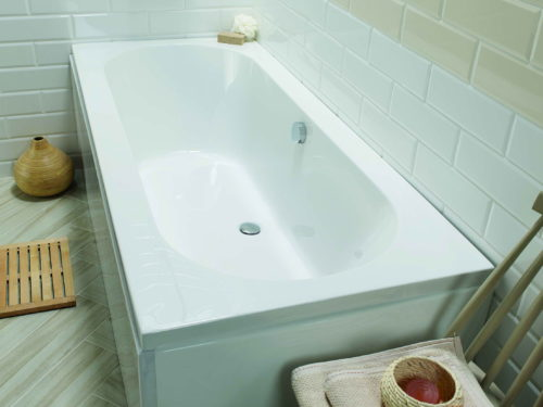 BRAEMAR DOUBLE ENDED 1700 X 750mm BATH
