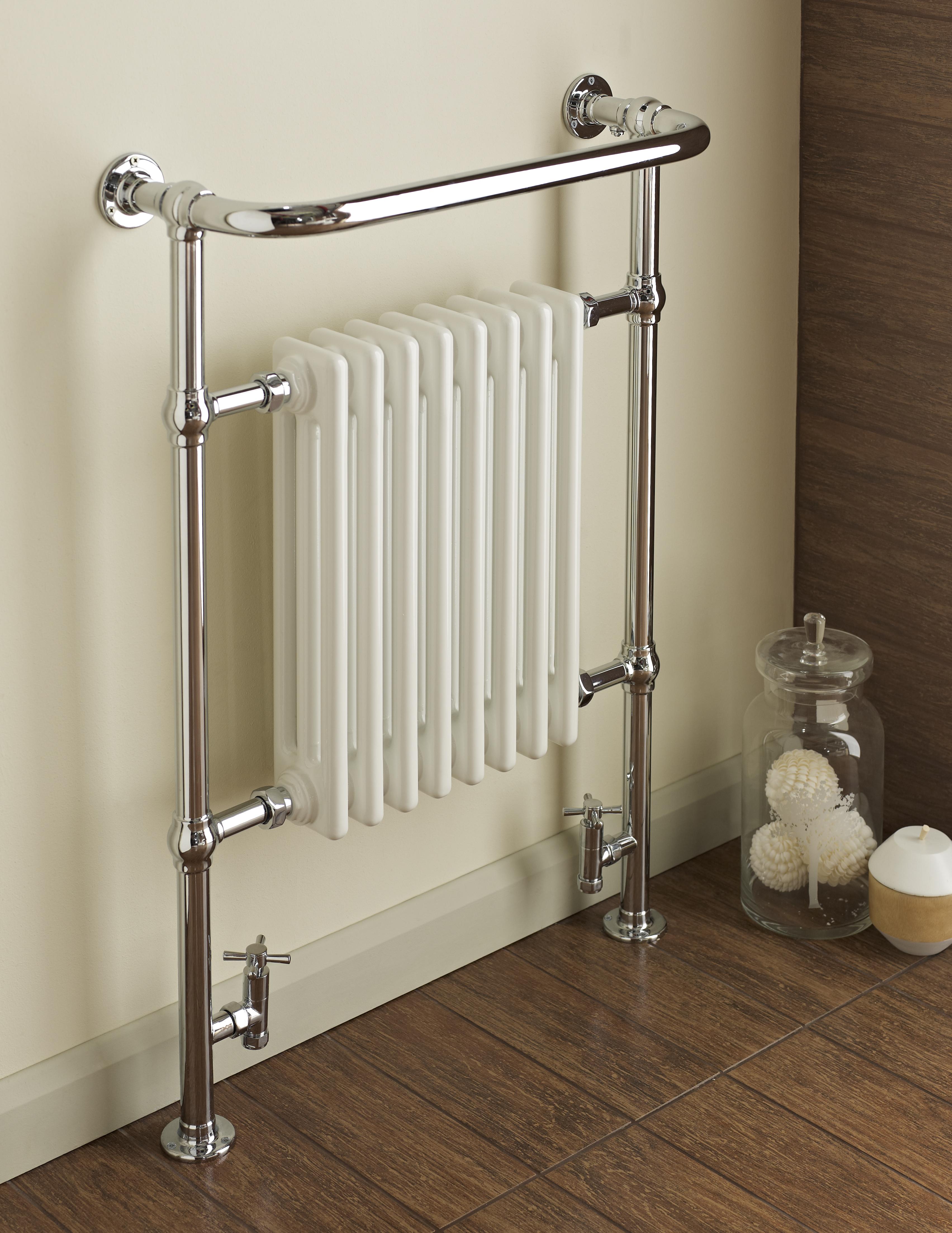 Dunbar Chrome White Traditional Radiator Amp Towel Warmer