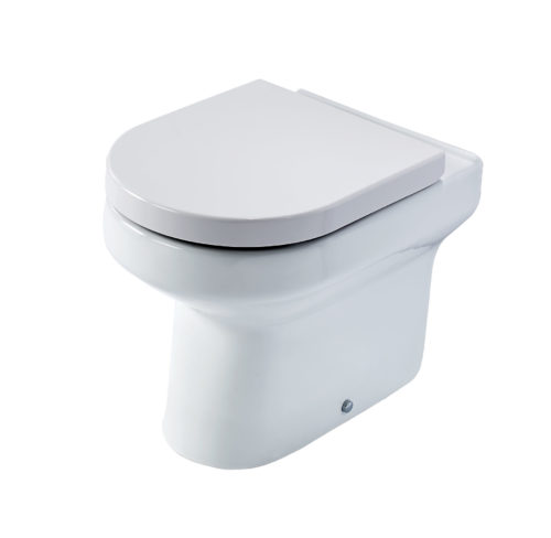 ELGIN BACK TO WALL WC PAN & SOFT CLOSE SEAT