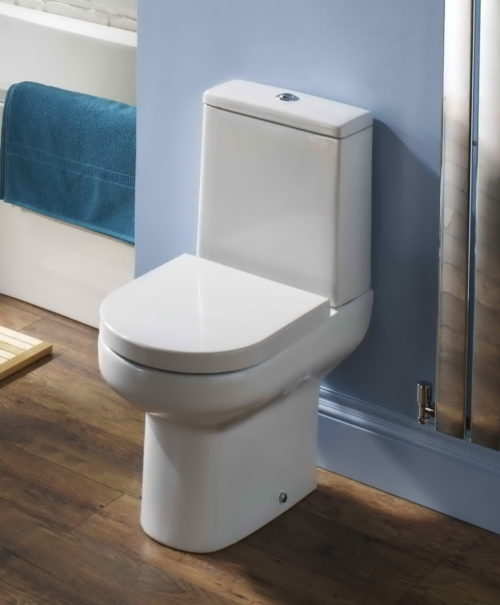 ELGIN WC PAN & LUXURY SOFT CLOSE THERMOSET SEAT
