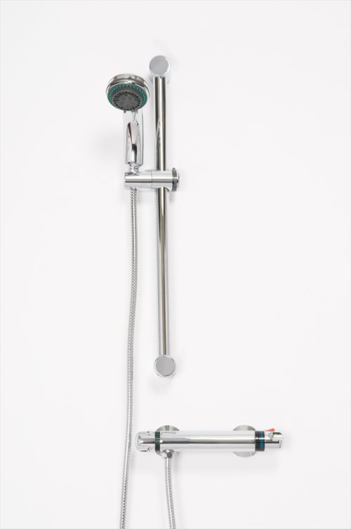 LEWIS THERMOSTATIC SHOWER VALVE & MULTI MODE SHOWER KIT
