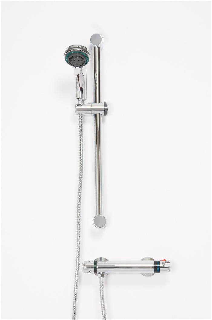 LEWIS THERMOSTATIC SHOWER VALVE & MULTI MODE SHOWER KIT | Bath Giant