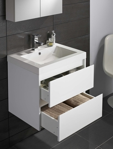 GALLOWAY WALL HUNG VANITY UNIT & BASIN