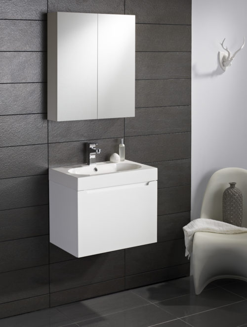 GLENEAGLES WALL HUNG VANITY UNIT AND BASIN
