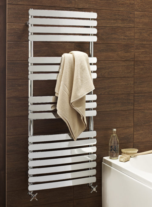 KELVIN FLAT BAR DESIGNER TOWEL WARMER