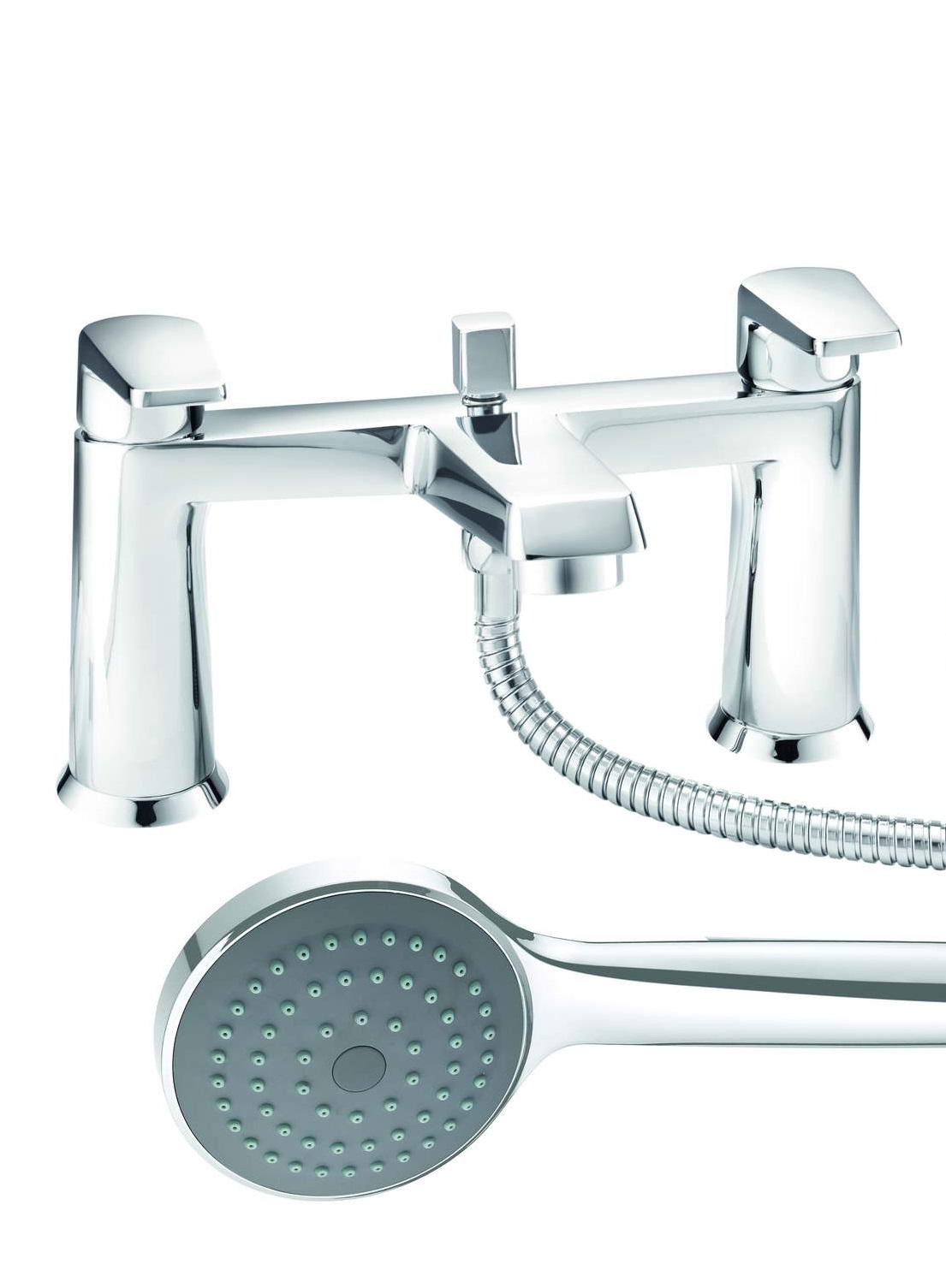 LINTON BATH SHOWER MIXER & SHOWER KIT | Bath Giant