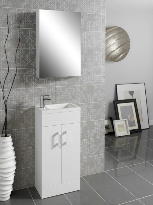LOMOND 400 FLOOR STANDING VANITY UNITS IN FOUR COLORS