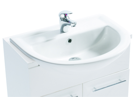 SKARA SEMI-RECESSED BASIN