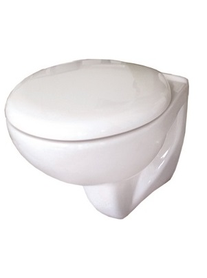 SKARA WALL HUNG WC PAN & SOFT ClOSE SEAT