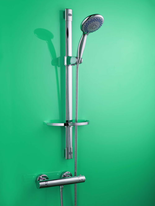STROMA THERMOSTATIC SHOWER VALVE & MULTI-MODE RISER RAIL KIT