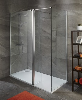 1900 High Wetroom Screens