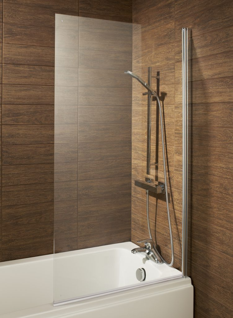 Troon Square Profile Over Bath Shower Screen Bath Giant