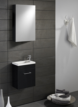 LOMOND 400 WALL HUNG VANITY UNITS & BASIN IN FOUR COLORS