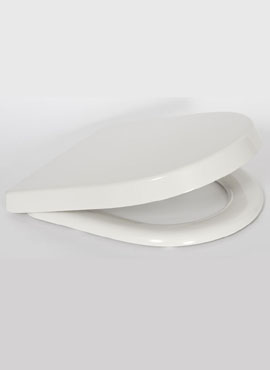 LORA FAST RELEASE SOFT CLOSE D SHAPE WC SEAT/TOILET SEAT