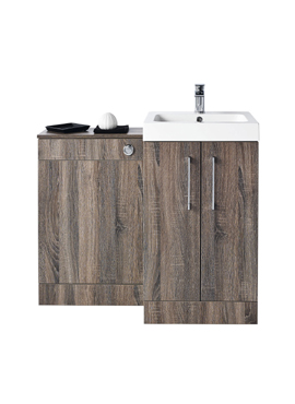 LOMOND 500 BASIN AND BACK TO WALL WC COMBINATION SET