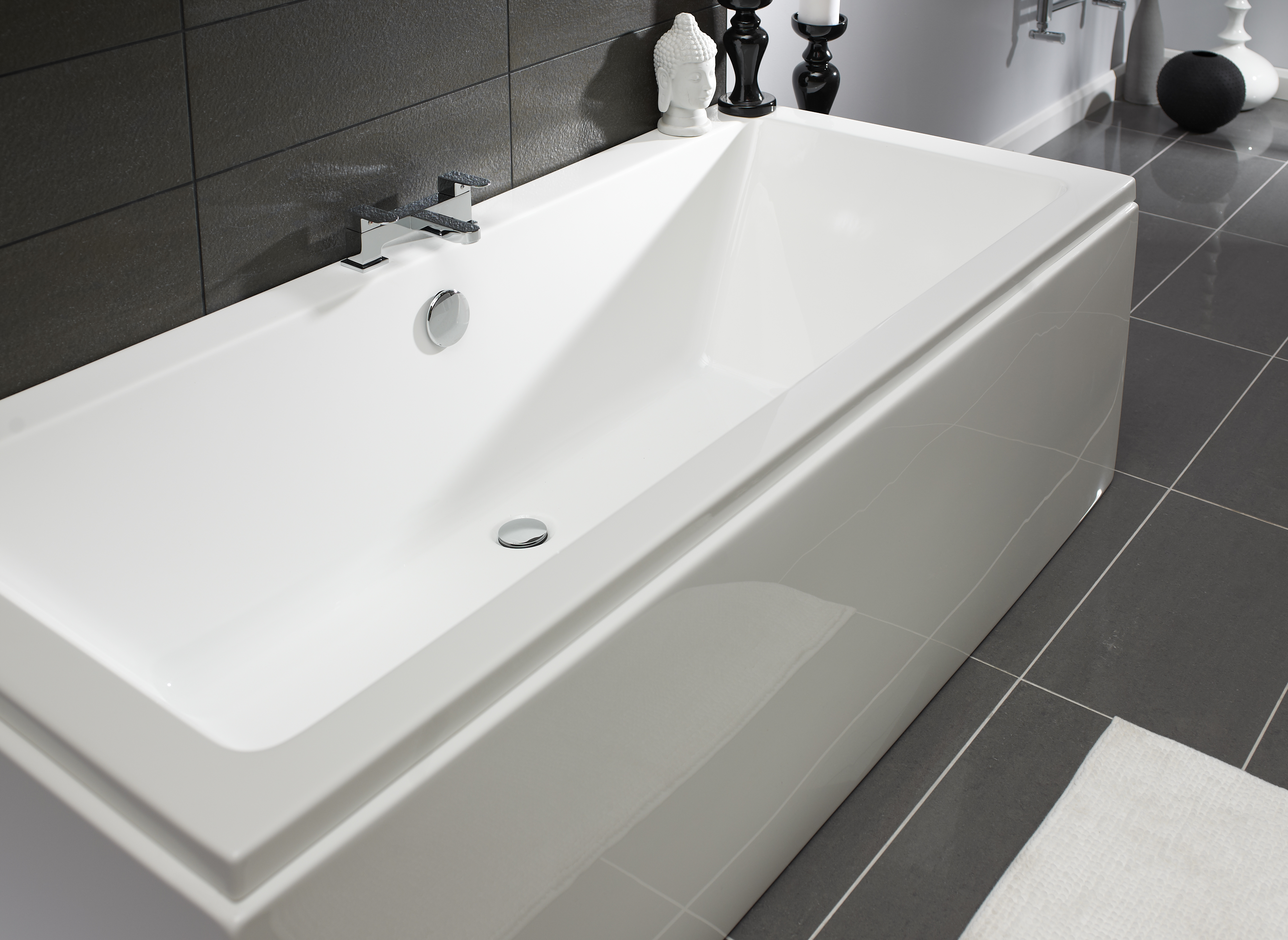 KELSO DOUBLE ENDED 1800X800MM BATH | Bath Giant