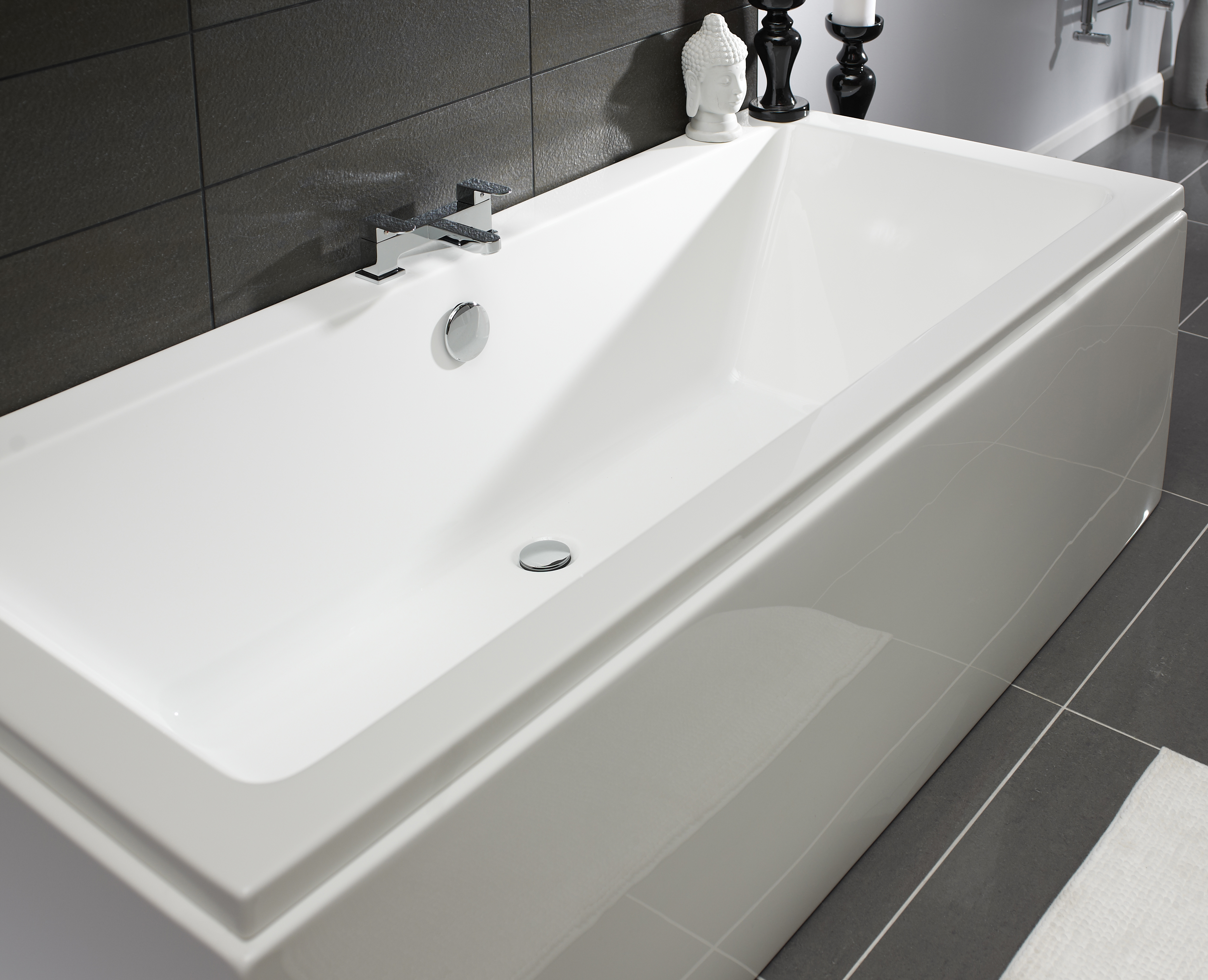 KELSO DOUBLE ENDED 1800X800MM BATH