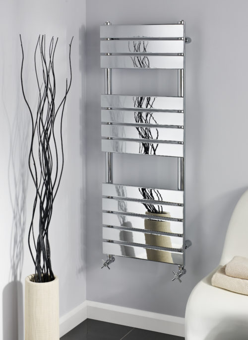TROON 3 SECTION CHROME TOWEL WARMER