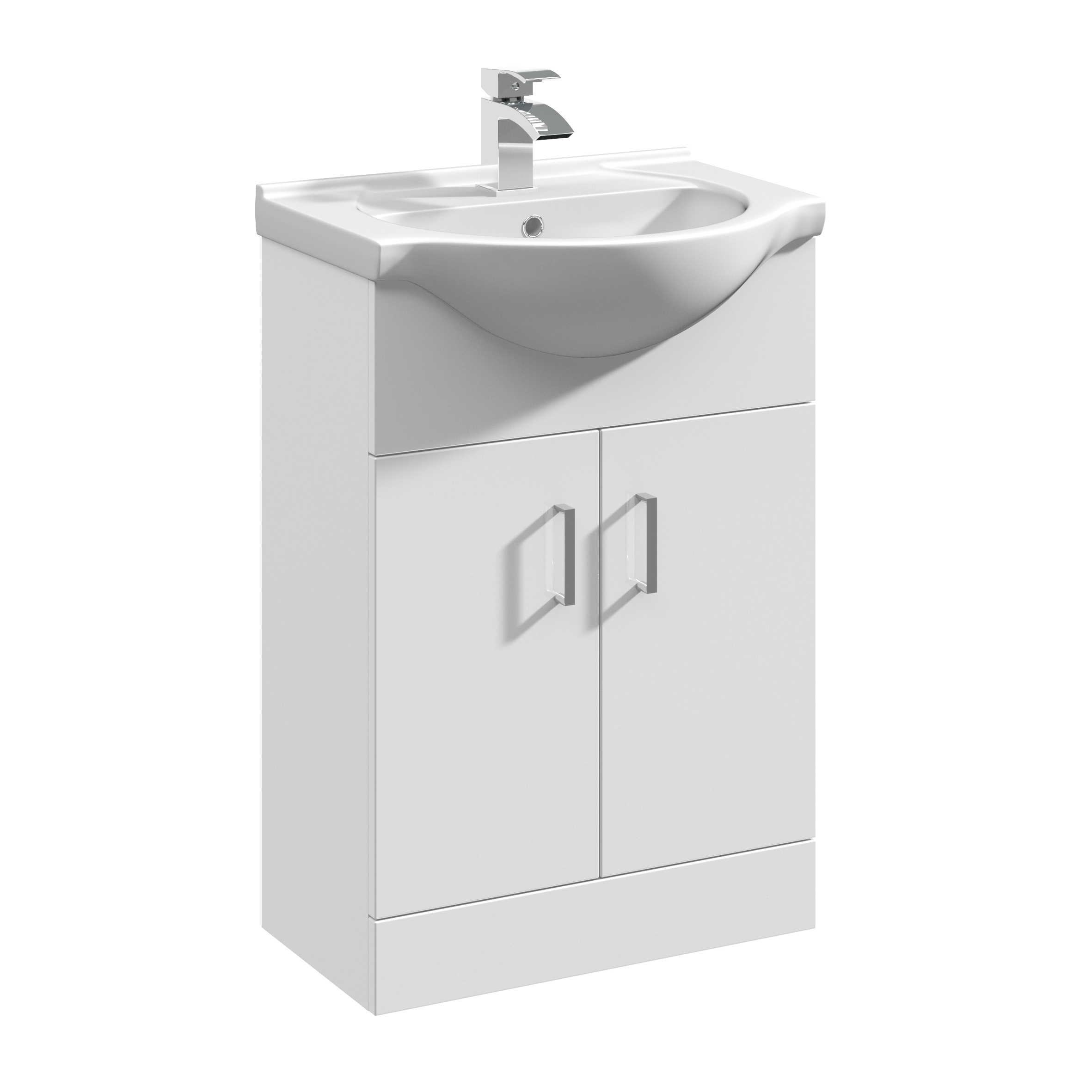 Madison 550 Vanity Unit And Round Basin